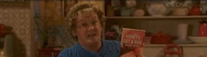 There was a surprisingly touching speech at the end of Mrs Brown's Boys last night