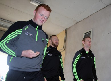 Johnny Buckley and Colm Cooper will be back in contention for Kerry.