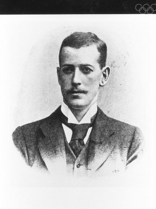 John Pius Boland: Ireland's first Olympic gold medallist.