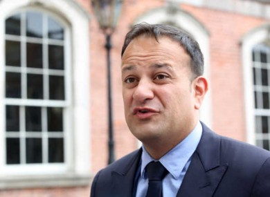 Leo Varadkar before the Social Protection Pre-Budget meeting in Dublin Castle last Friday.