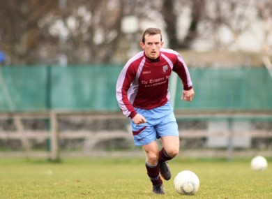 Alex Lee played in the League of Ireland First Division for Mervue United.