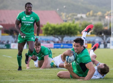 Cian Kelleher marked his debut with a try.