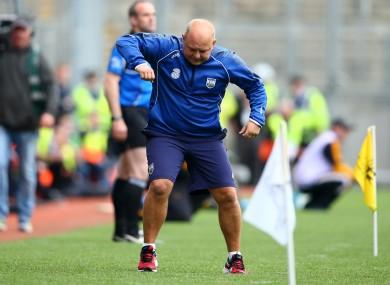 Waterford hurling manager Derek McGrath