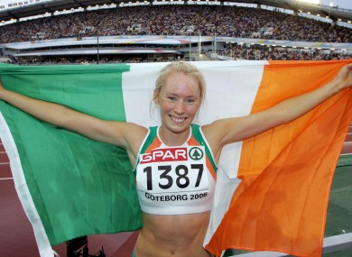 Derval O'Rourke didn't hold back on RTÉ last night.