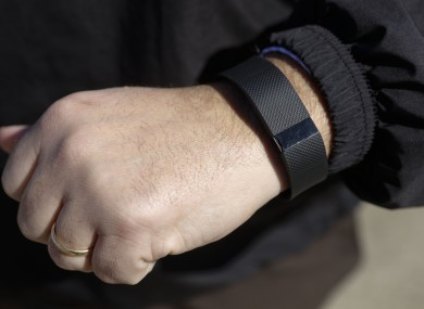 File photo of a Fitbit.