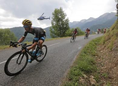 Nicolas is the son of 1987 Tour de France and Giro d'Italia winner, Stephen Roche.