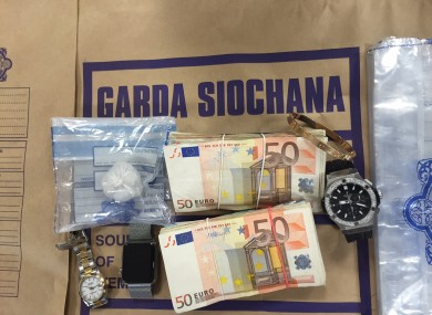 audi, jewellery and watch worth €15,000 among items seized in south