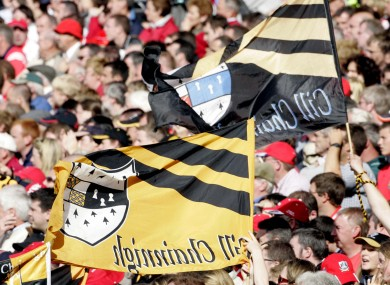 Kilkenny flags (file pic).