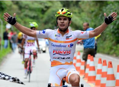 Brazilian cyclist Kleber Ramos.