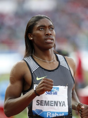 Semenya Caster from South Africa.