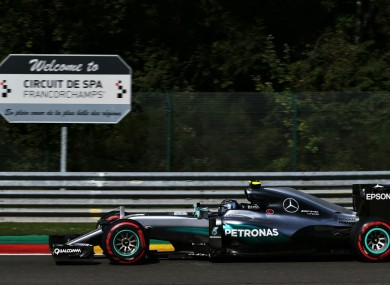Nico Rosberg is 19 points behind Lewis Hamilton at the top of the driver standings.