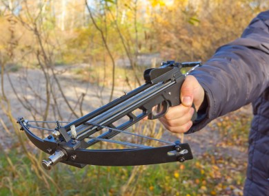 File photo of a crossbow.
