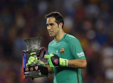 Claudio Bravo is on his way to Man City.