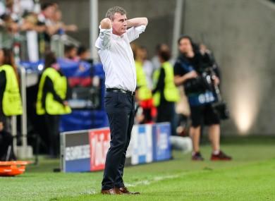 Dundalk manager Stephen Kenny.