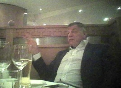 Allardyce: met with
