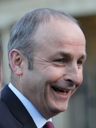It's good news for Fianna Fáil leader Micheál Martin