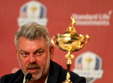 Darren Clarke said the comments were inflammatory.
