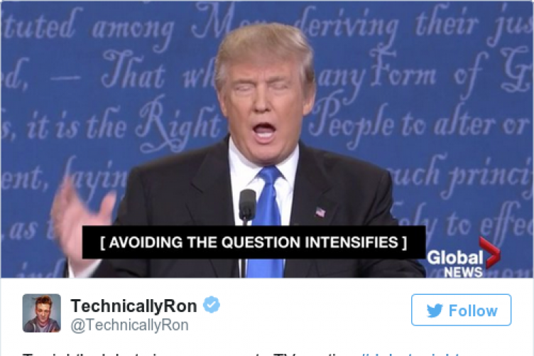 19 tweets and memes that will completely sum up last night s debate
