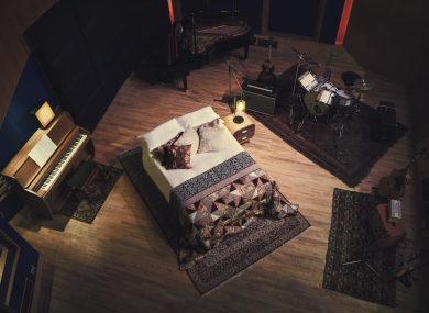 The Abbey Road studio will be transformed into a bedroom for one night.