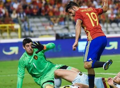 Spain striker Diego Costa
