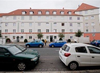 A residential house in the borough of Vahrenwald in Hannover, Germany.