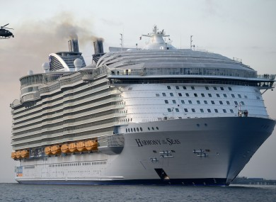 Crew Member On Worlds Largest Cruise Ship Dies During Safety Drill - How many crew members on a cruise ship