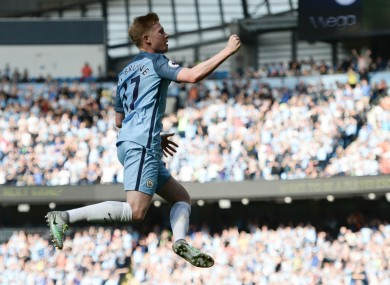 De Bruyne was in super form again today.