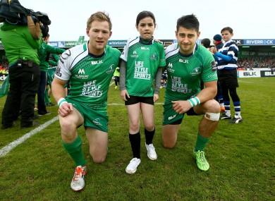 Kieran Marmion and Tiernan O'Halloran return.