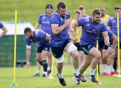 O'Mahony: in the mix for Zebre clash.