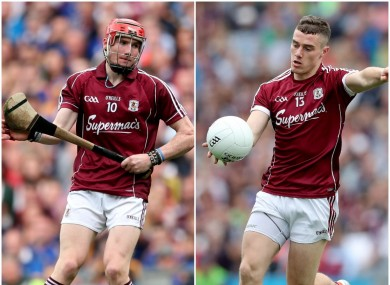 Conor Whelan and Eamonn Brannigan part of the Galway U21 setup for Saturday.