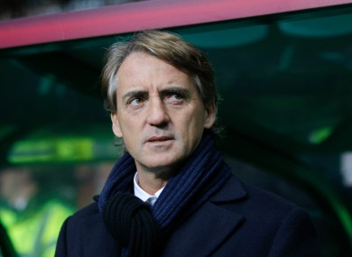 Roberto Mancini lost his job as Inter coach recently.