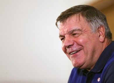 Allardyce left his job with Sunderland to become England manager.