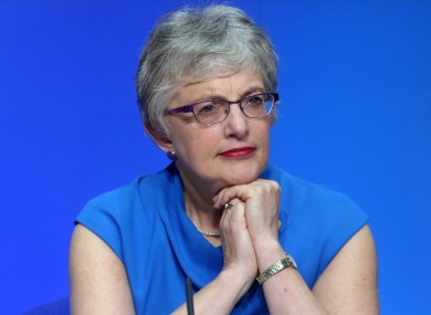 Minister for Children and Youth Affairs Katherine Zappone TD