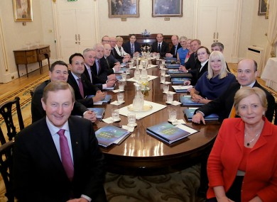 Cabinet Ministers have turned down a hike of €12,000 in their pay.