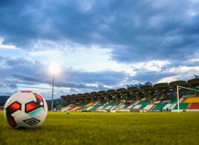 Tallaght Stadium (file pic).