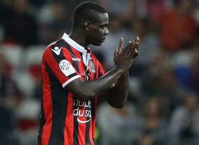 Mario Balotelli has missed out on an Italy recall