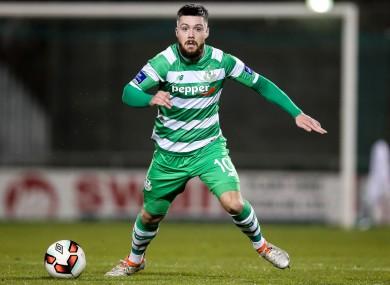 Rovers' Brandon Miele scored a beautiful free kick tonight.