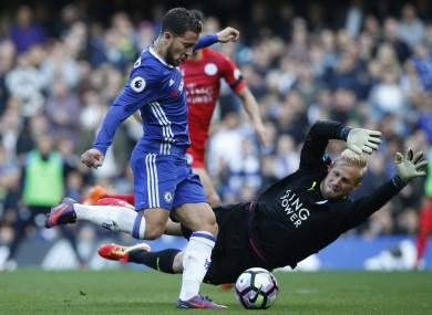 Eden Hazard scores for Chelsea.