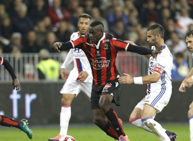 Mario Balotelli has impressed early on at Nice.
