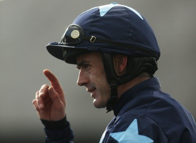Ruby Walsh pictured at Punchestown on Thursday.
