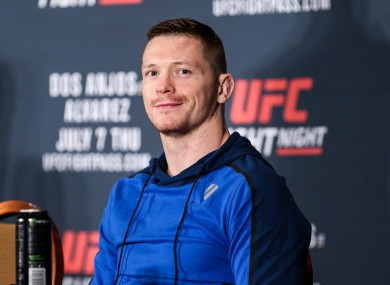 UFC lightweight Joseph Duffy.