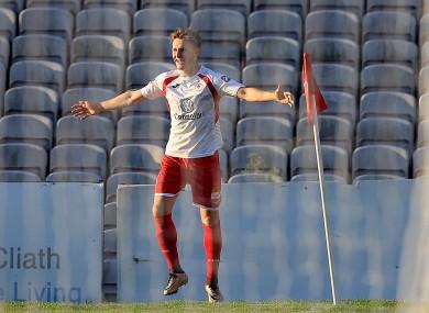 Kieran Sadlier of Sligo scored tonight.