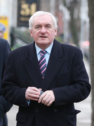 File photo of Bertie Ahern.
