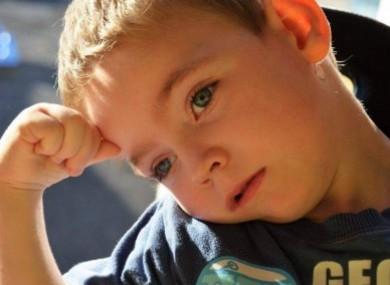 Five-year-old Alex Butler.