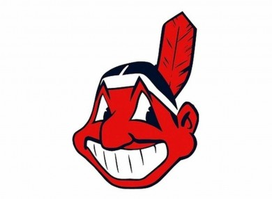Chief Wahoo has been front and center of Cleveland's World Series bid.