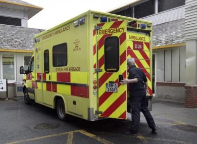 Stock ambulance photo
