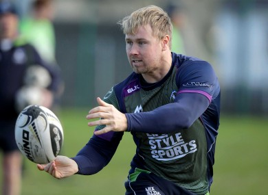 Carr was released by Connacht last season and has been playing club rugby with Naas.