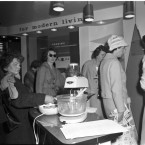 'For Modern Living': a demonstration of the benefits of electricity in the home, 7 May 1960.<span class=