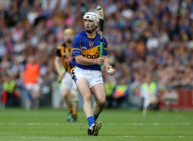Gearóid Ryan in action against Kilkenny in the All-Ireland final replay in 2014.