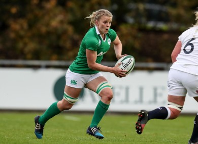 Claire Molloy is looking forward to Ireland's last November Test this weekend.